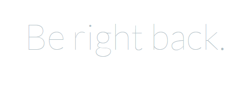 laravel_be_right_back