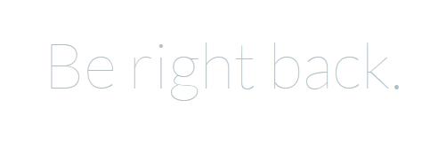 laravel_be_right_back